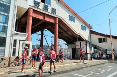 チームライドは寄居駅集合が多い Photo:サイクルスポーツ編集部