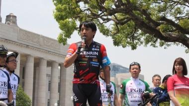東京オリンピック・パラリンピックの自転車競技スポーツマネージャー、片山右京さん