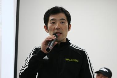 ウォークライドの須田晋太郎氏