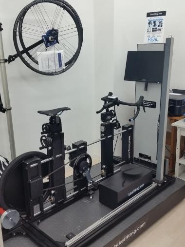 シマノフィッティングシステム・ステージ2も設置されている