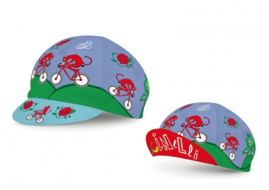 DIAVOLO ROSSO CAP:3000円(税抜)ワンサイズ、デザイナー:MASSIMO GIACON、イタリア製