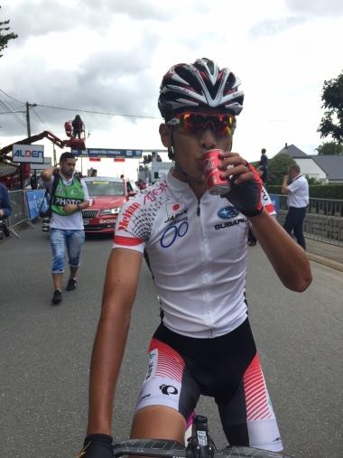 得意な山岳での勝負を楽しみにする雨澤毅明(photo:CyclismeJapon)
