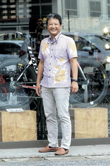 沖縄輪業・森 豊さん「レンタサイクルで沖縄を走るのもいいですよ」