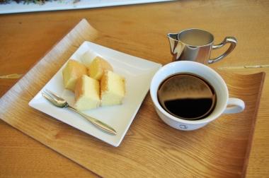 ラコリーナで一番人気のバームクーヘン。コーヒーとともに食すのがオススメ