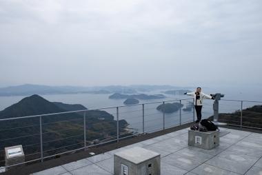 曇っててもやっぱりここからの景色は最高です!