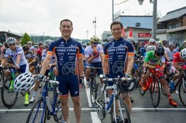2017 ツアー・オブ・ジャパン いなべステージ記念 サイクルジャージ
