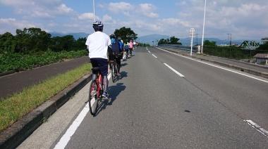 オープン前日にはサイクリングイベントが行われた