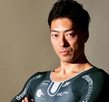 新田 祐大(32)2018アジア大会ケイリン銀メダリスト。外国人に全く引けを取らないパワフルな走りは「日本人は外国人にかなわない」という思い込みを忘れさせてくれる