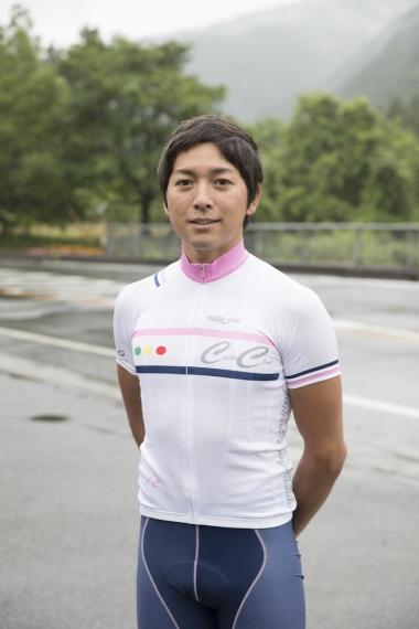 相川 将さん:シクロパビリオンのチーフインストラクター。ブリヂストンアンカーなどに所属していた元選手。フランスでのレース経験も豊富。
