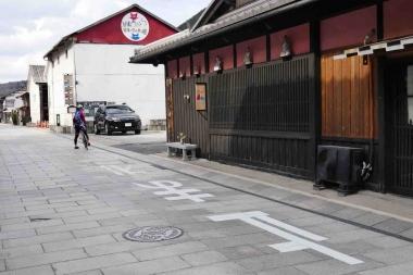 広島県三次市では、ノスタルジックな「物怪(もののけ)・でこ街道」に足を伸ばしたい