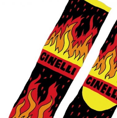 ANA BENAROYA FIRE SOCKS 2700円(税抜)ワンサイズ