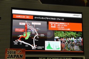 森林公園の周回コースは今年もショートコースが使用される