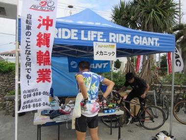 レンタルバイク、メカニックをサポートする沖縄輪業さんのおかげで、今回は手ブラで楽チン