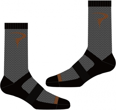 T-Writing Logo Sock