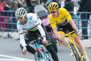 最終局面はアルカンシエルとマイヨ・ジョーヌの一騎打ち