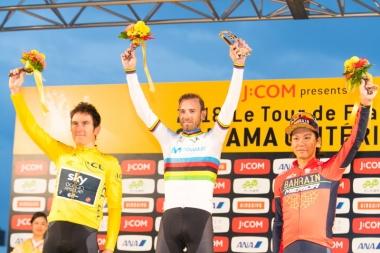 優勝はアレハンドロ・バルベルデ! 2位はゲラント・トーマス、3位に新城幸也