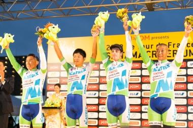 日本チーム一位マトリックスパワータグ