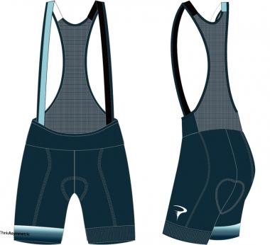 Think Asymmetric Cosmo W Bib-Shorts