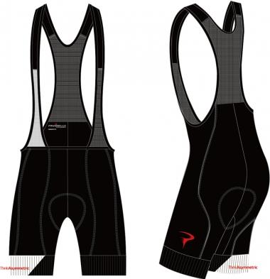 Think Asymmetric Dual Gripper Bib-Shorts