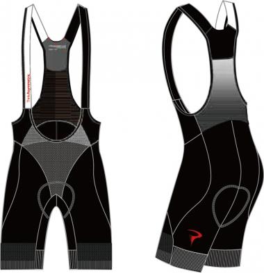 Think Asymmetric Power Bib-Shorts