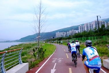 韓国国土縦走自転車道路