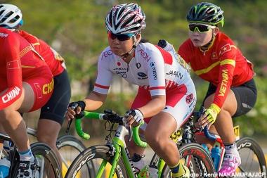 女子U23 ロードレースで6位の中井彩子