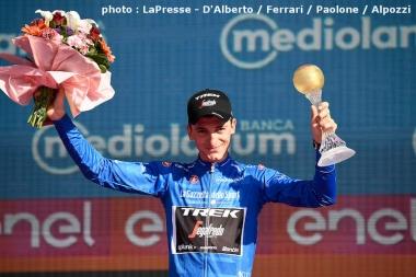 山岳賞のマリア・アッズーラを獲得したチッコーネ