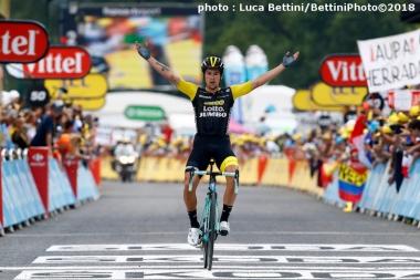 ツール・ド・フランスに出場したチームロットNL・ユンボをサポート。プリモシュ・ログリッチェが2度の区間優勝を果たした