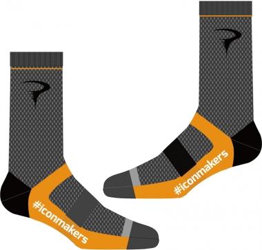 #iconmakers Logo Sock
