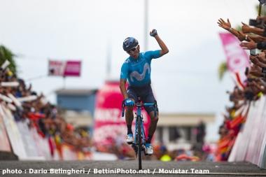 最終ステージで優勝したのはナイロの弟、ダイエル・キンタナだった