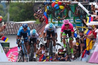 第5ステージの頂上ゴールは地元のスター選手たちか熱いスプリントを競った