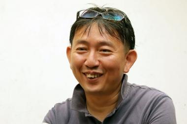 ペダルノート(開発者)の小原芳章さん。コンピューターシステム開発、IoTソリューションの提供をする株式会社ペダルノートの代表取締役
