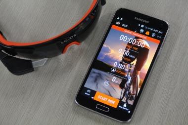 専用のアプリは無料でインストールできる。サイクリング以外に、ランなどで活躍が期待できる