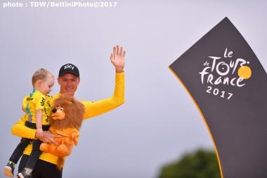 フルームは今年のツールで4度目の勝利を収めたが、来年は出場できないかもしれない… (photo : TDW/BettiniPhoto©2017)