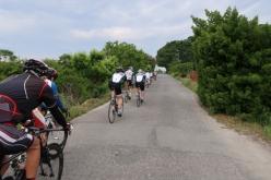 2週目からは各自のペースで Photo:サイクルスポーツ編集部