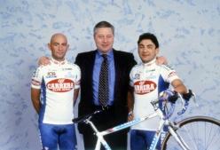 画像は1996年のものでキャプーチ氏にとってカレラでの最終年。ボイファヴァ氏とM・パンターニとともに