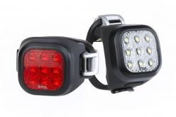 「ナイナー」はその見た目のままフロント、リア9灯。照射各は90°。歩行者や対向車へ存在をアピールできる