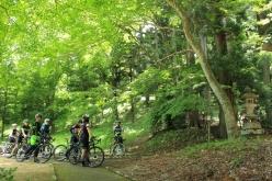 松尾芭蕉にも歌われた「白河関」跡に始めに寄り道