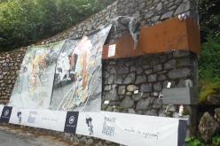 2回目のモルティローロ峠途中にあるパンターニのモニュメント