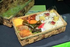 「SHOKO'S KITCHEN」のランチボックス。那須にゆかりある食材を使った和のテイストだ