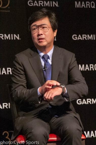 ホンダエアクラフトカンパニー社長兼CEOの藤田道格氏。「アビエイターを入り口に航空機を好きになって、日本の皆さんにホンダジェットを買ってもらいたい」とも