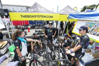 個人TTの走りを見て、チームマネージャーたきざわよりチームTT出走のメンバーと配列が発表される