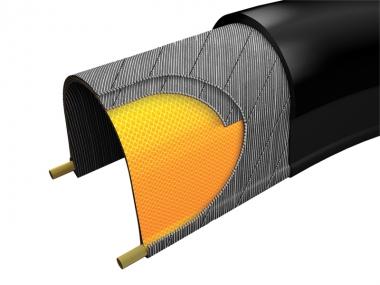 シルクシールド:マキシス独自の素材でビードからビードまでを覆うことで、耐パンク性能・引き裂き強度の向上、転がり抵抗の減少、さらにサイドカットにも対応したプロテクションテクノロジー