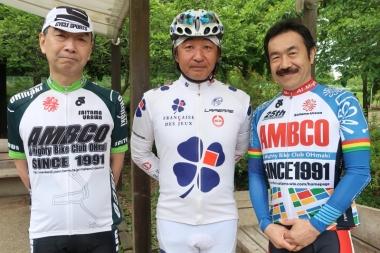 左から、鷲津さん、小野崎さん、松永さん Photo:サイクルスポーツ編集部