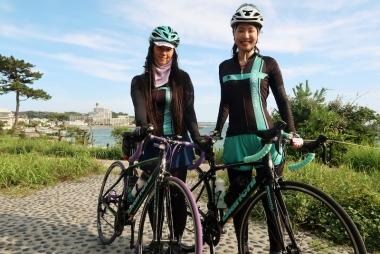 チーム員 左から鈴木さんと前田さん Photo:サイクルスポーツ編集部