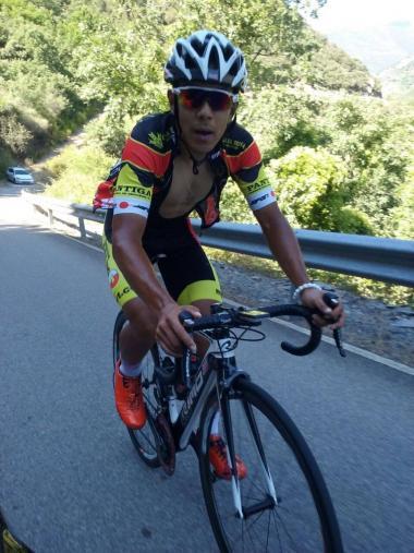 ブエルタ・レオン第3ステージ最後の峠