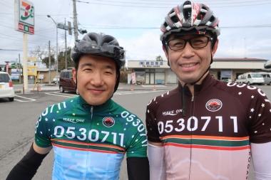 若井さん(左)と薄井さん(右)