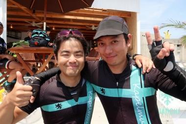 実務担当 左から桂田さんと川辺さん Photo:サイクルスポーツ編集部