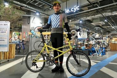 自転車歴が長い戸谷さん Photo:大宅陽子