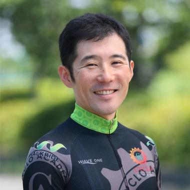 自転車コーチの須田晋太郎さん(ウォークライド)